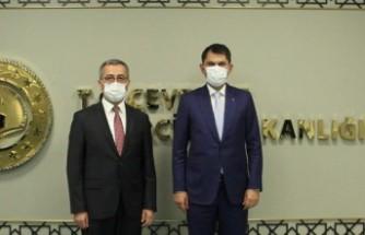 Başkan Güngör Ankara'dan Müjdelerle Döndü