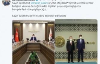 Başkan Güngör'den Heyecanlandıran Paylaşım