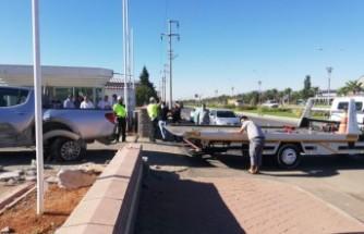Kahramanmaraş'ta Kaza! Kamyonetle Otomobil Çarpıştı