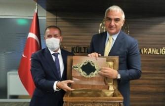 Kervancıoğlu'ndan Kültür ve Turizm Bakanına Ziyaret