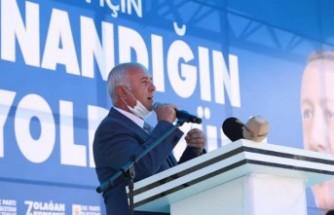 AK Parti Elbistan İlçe Başkanlığı'na Ahmet Tıraş Seçildi