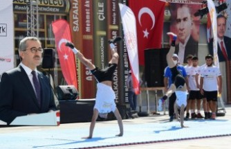 Başkan Güngör: Sporun Merkezi Kahramanmaraş Olacak