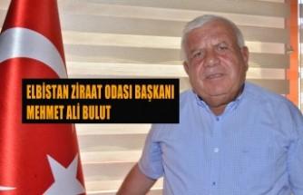 """""""Elbistan'da Kömür Sahasındaki 25 Bin Dönüm Alan Tarıma Açılsın"""""""