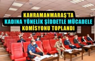 Kadına Yönelik Şiddetle Mücadele Komisyonu Toplandı