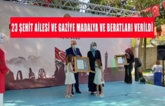 Kahramanmaraş'ta Devlet Övünç Madalyası Tevcih Töreni