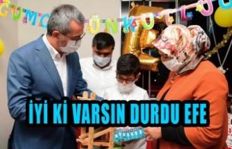 Başkan Güngör'den Şehit  Oğluna Doğum Günü Sürprizi