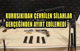 Kahramanmaraş'ta Silah Tamiri Yapan İş Yerlerine Operasyon