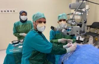 KSÜ Tıp Fakültesi'nde İlk Kornea Nakli Gerçekleştirildi