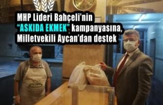 """Milletvekili Aycan'dan """"Askıda Ekmek"""" Kampanyasına Destek"""