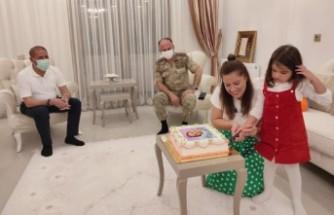 Şehit Kızı Minik Eylül'e Doğum Günü Sürprizi