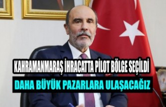 Balcıoğlu: Daha Büyük Pazarlara Ulaşacağız