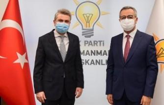 Başkan Güngör'den Görgel'e Hayırlı Olsun Ziyareti