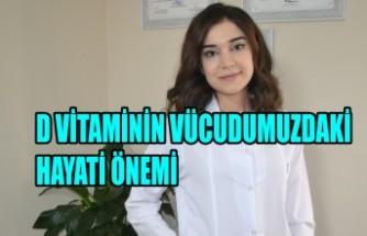 D Vitaminin Vücudumuzdaki Hayati Önemi