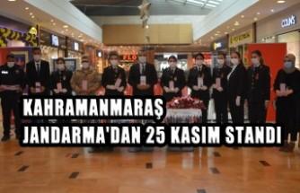 Jandarma'dan 25 Kasım Standı