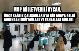 Milletvekili Aycan, Her Fırsatta Soluğu Memleketinde Alıyor