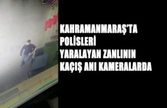 Polisleri Yaralayan Zanlının Kaçış Anı Kameralarda