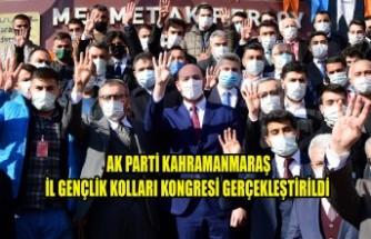 AK Parti Kahramanmaraş İl Gençlik Kolları Kongresi Gerçekleştirildi