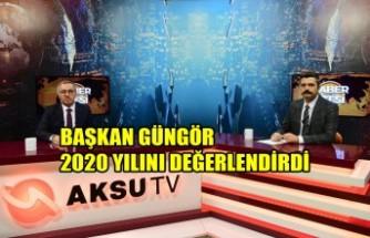Başkan Güngör, 2020 Yılını Değerlendirdi