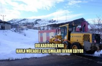 Dulkadiroğlu'nda Karla Mücadele Çalışmaları Devam Ediyor