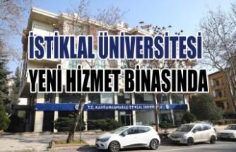 İstiklal Üniversitesi Yeni Hizmet Binasında
