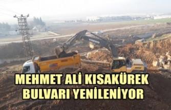 Mehmet Ali Kısakürek Bulvarı Yenileniyor