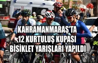 12 Kurtuluş Kupası Bisiklet Yarışları Yapıldı