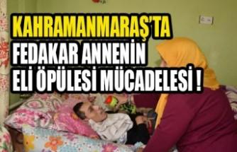 Kahramanmaraşlı Fedakar Anne Doğuştan Engelli 3 Evladına Yıllardır Bebek Gibi Bakıyor
