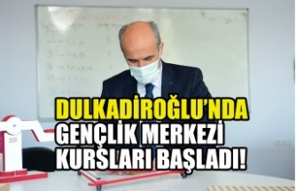 Dulkadiroğlu'nda Gençlik Merkezi Kursları Başladı