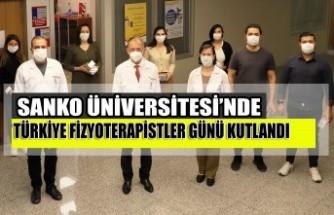 SANKO Üniversitesi'nde Türkiye Fizyoterapistler Günü Kutlandı