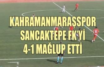 Kahramanmaraşspor: 4 – Sancaktepe FK: 1
