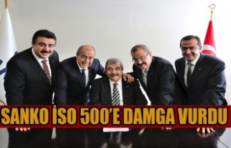 SANKO İSO 500'E Damga Vurdu