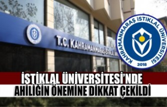 İstiklal Üniversitesi'nde Ahiliğin Önemine Dikkat Çekildi