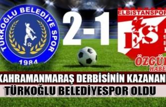 Kahramanmaraş Derbisinin Kazananı Türkoğlu Belediye Spor Oldu
