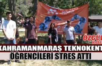 Kahramanmaraş Teknokent Koleji Öğrencileri Stres Attı