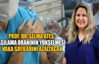 Prof. Dr. Selma Ateş; Aşılama Oranının Yükselmesi Vaka Sayılarını Azaltacak
