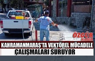 Kahramanmaraş'ta Vektörel Mücadele Çalışmaları Sürüyor