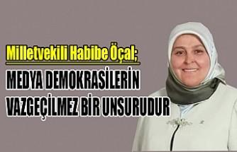 Milletvekili Öçal'dan 24 Temmuz Gazeteciler ve Basın Bayramı Mesajı