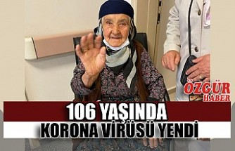 106 Yaşında Korona Virüsü Yendi