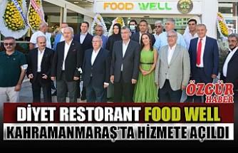 Diyet Restorant FOOD WELL Hizmete Açıldı