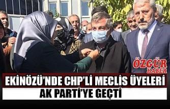 Ekinözü'nde CHP'li Meclis Üyeleri Ak Parti'ye Geçti