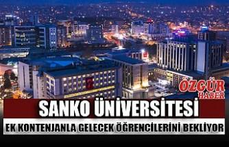 SANKO Üniversitesi Ek Kontenjanla Gelecek Öğrencilerini Bekliyor