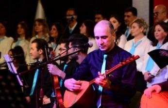 KSÜ Türk Halk Müziği Korosu Sanatseverlerle Buluştu