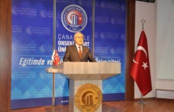 Rektör Can, III. Uluslararası Farkındalık Kongresi'ne Katıldı