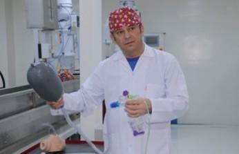 Kahramanmaraş'ta Üretilecek Tek Kullanımlık Solunum Cihazı İçin Geri Sayım Başladı