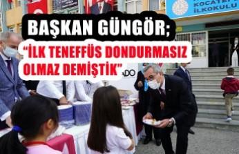 Başkan Güngör'den Ankara'da Öğrencilere Dondurma İkramı