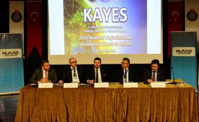 KSÜ Ev Sahipliğinde Düzenlenen 2. Uluslararası Kahramanmaraş Yönetim Ekonomi ve Siyaset Kongresi Başladı