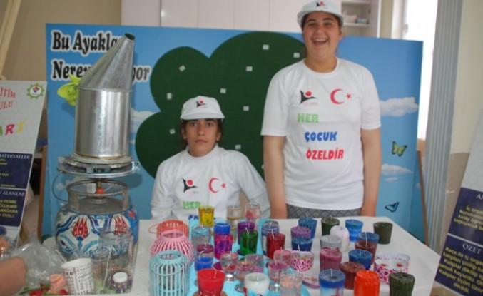 Özel Öğrenciler, Projelerini Bilim Fuarında Sergiledi