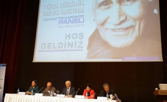 Türk Şiirinin Beyaz Kartalı Karakoç Anıldı