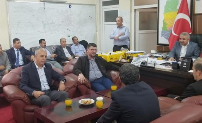 Başkan Avşaroğlu'ndan Yaşar Altuntel'e Ziyaret