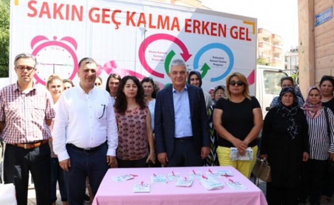 Kahramanmaraş'ta İkinci Mobil Kanser Tarama Aracı Göreve Başladı